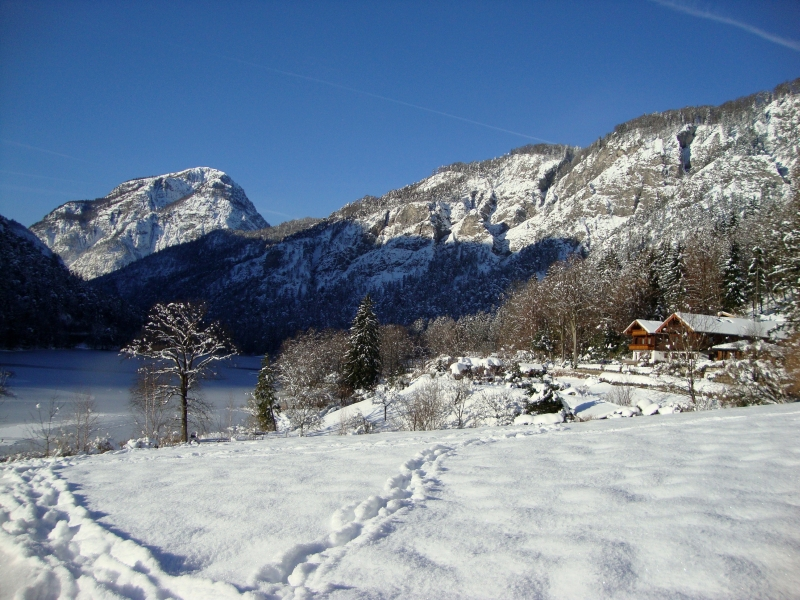 Winter am Thumsee